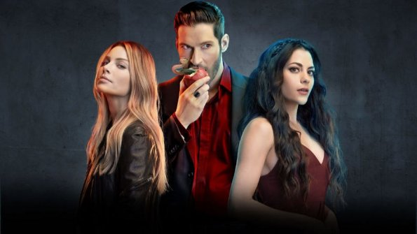 Lucifer Netflix Cast Photo